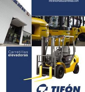 TIFON Corporación Industrial, S.A. Experiencia más que contrastada en la venta de carretillas elevadoras