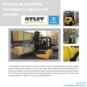 renting equipos atlet