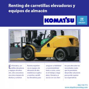 renting equipos komatsu_unirent