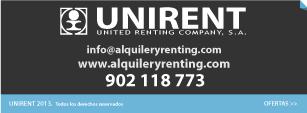 contactar unirent alquiler y renting carretillas